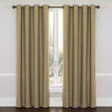 Eclipse Thermalayer Curtains by Eclipse Wyndham Blackout Curtain Panel Latte 95 Brown Size 52