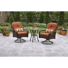 Garden Ridge Patio Furniture Clearance Better Homes And Gardens Azalea Ridge 3 Outdoor Bistro Set