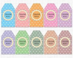 thank you tags printable thank you tags thank you printable tags diy thank you
