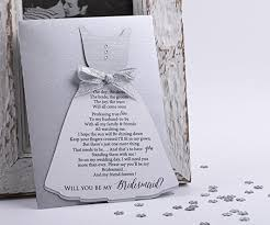 asking bridesmaids cards will you be my bridesmaid card asking