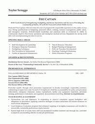 emt resume examples firefighter resume job description firefighter