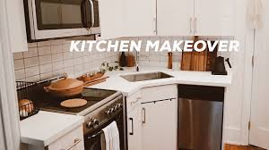 how to fit a kitchen cheaply diy kitchen makeover on a budget small kitchen design ideas renter friendly