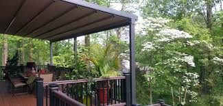 Sun Awnings For Decks 50 Shades Of Cool Awnings To Shade The Sun Milanese Remodeling