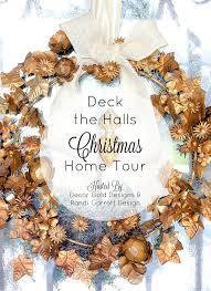 deck the halls christmas home tour romantic christmas bedroom