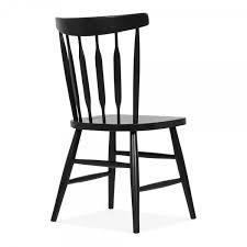 cult living windsor dorothy black wooden chair cult furniture uk