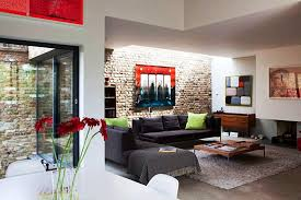 Cozy Family Room Wall Decorating Ideas With Brick And Modern - Cozy family room decorating ideas