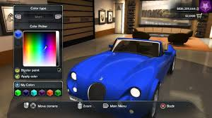 test drive unlimited 2 tdu2 trainer club cars are paintable