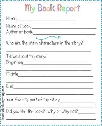 book report template 4th grade how to write a book report in college ap history essays one