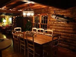 beautifully decorated log cabin on core sou vrbo