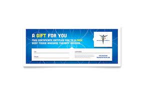 health u0026 beauty gift certificates templates u0026 designs
