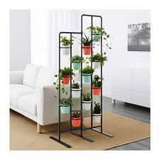 socker indoor outdoor bendable plant stand black or white ikea