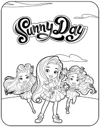 d day coloring pages nickelodeon sunny day coloring pages getcoloringpages com