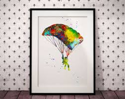 skydiving etsy