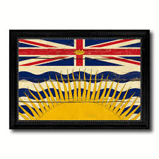 Conch Republic Flag British Columbia Province City Canada Country Vintage Flag Home
