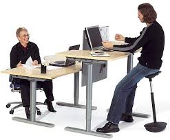 adjustable height desk and sit stand tables homefurniture org