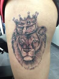 download lion tattoo with crown danielhuscroft com