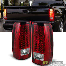 2000 silverado tail lights tail light set led red clear anzo 321296 ebay