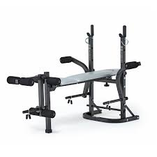 york fitness b501 folding barbell bench home weight training