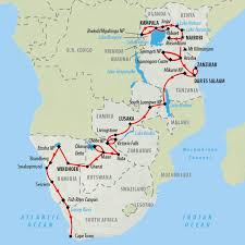 Port Elizabeth South Africa Map by South Africa Tours And Safari Holidays On The Go Tours