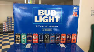 how much is a 36 pack of bud light limited edition bud light nfl 36 packs case beer beverage