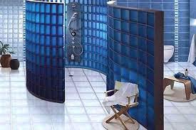 Glass Block Bathroom Designs Fabulous Glass Block Wall Bathroom Ideas Glass Block Wall Design