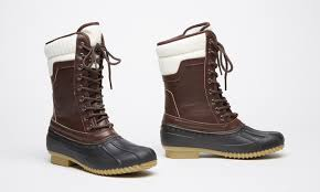 groupon s boots sociology s swan weather boot groupon exclusive size 6