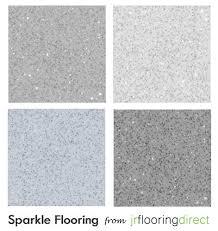 Vinyl Bathroom Flooring Tiles - grey sparkly flooring glitter effect vinyl floor sparkle lino