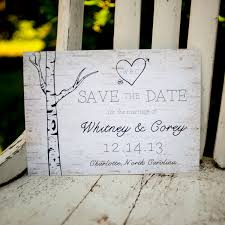 rustic save the dates rustic save the date save the date card the woodland