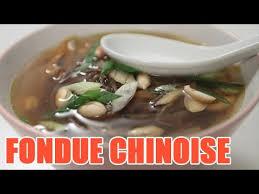 fondue vietnamienne cuisine asiatique recette fondue chinoise avec bouillon de légumes et