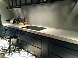 cuisine exterieure beton plan de travail exterieur beton plan de travail en bacton cirac