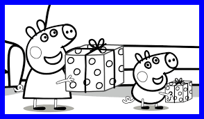 peppa pig coloring pages a4 awesome peppa pig coloring page great birthday of a styles and ideas