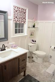 before u0026 after my pretty lavender master bathroom makeover