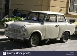 trabant east european trabant peoples car from the 1950 s stock photo