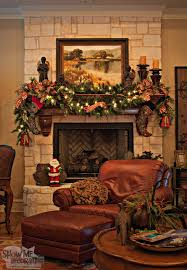 christmas tree theme show me decorating living room mantle garland