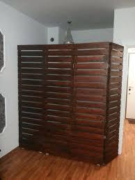 wooden room dividers wooden room dividers wooden pallet room divider wooden shutter room