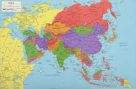 World Map Equator by Asia Continent Asia Map List Of Countries In Asia Einfon