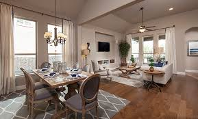 Union Park Dining Room Union Park New Homes By Plantation Homes