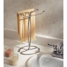 Interdesign Bathroom Accessories by Interdesign Axis Fingertip Towel Holder Walmart Com
