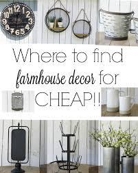 Ingenious Design Ideas Cheap Farmhouse Decor Where To Find The