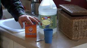 how to unclog a sink with baking soda and vinegar how to unclog a kitchen sink with baking soda and vinegar youtube