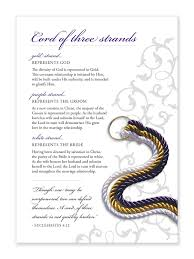 3 cords wedding ceremony god s knot cord of three strands everything else