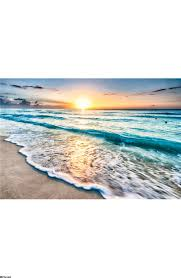 sunrise over beach wall mural wall mural loading zoom