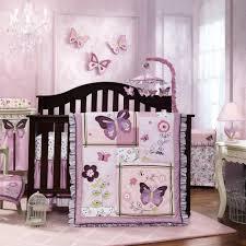 Lavender Butterfly Crib Bedding Lavender Butterfly Crib Bedding