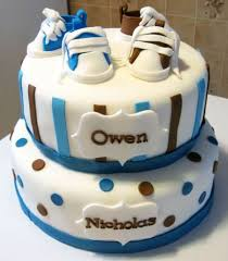 baby shower cakes for twins
