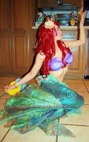 Mermaid Halloween Costumes Coolest Ariel Mermaid Halloween Costume Mermaid