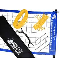 outdoor volleyball net system unique sports
