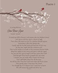 loss of mother in memory of mom mother in heaven personalized