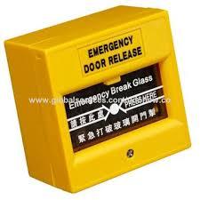 break glass door release china break glass fire emergency exit release on global sources
