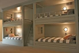 Bunk Beds Designs Built In Bunk Beds Plans Glamorous Bedroom Design