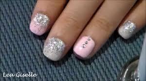 nail art tutorial for really short nails youtube